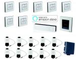 Danfoss Link großes Smarthome Starter-Set für Warmwasser-Fußbodenheizung