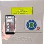 BioCom Zentrale mit Datenlogging+APP  inkl. Fühler