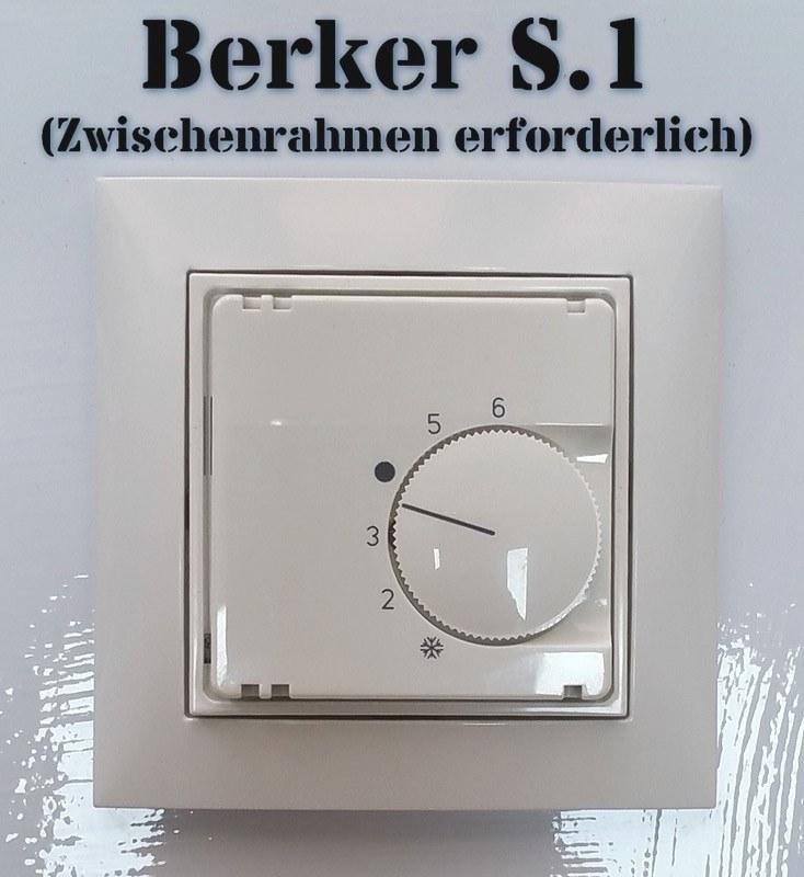 raumtemperaturregler f r busch jaeger reflex si si linear und duro 2000 h157. Black Bedroom Furniture Sets. Home Design Ideas