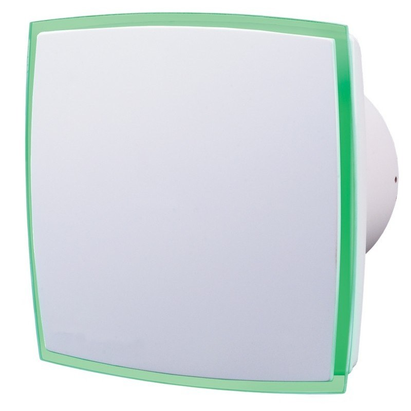 Design Abluftventilator Mit LED Lichtstreifen