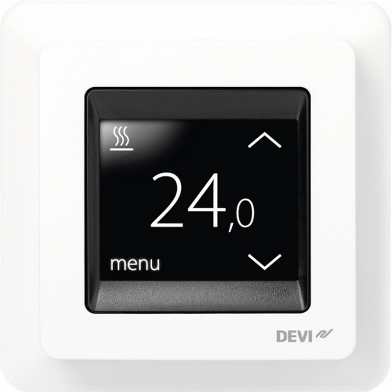 devireg touch thermostat f r fu bodenheizung. Black Bedroom Furniture Sets. Home Design Ideas