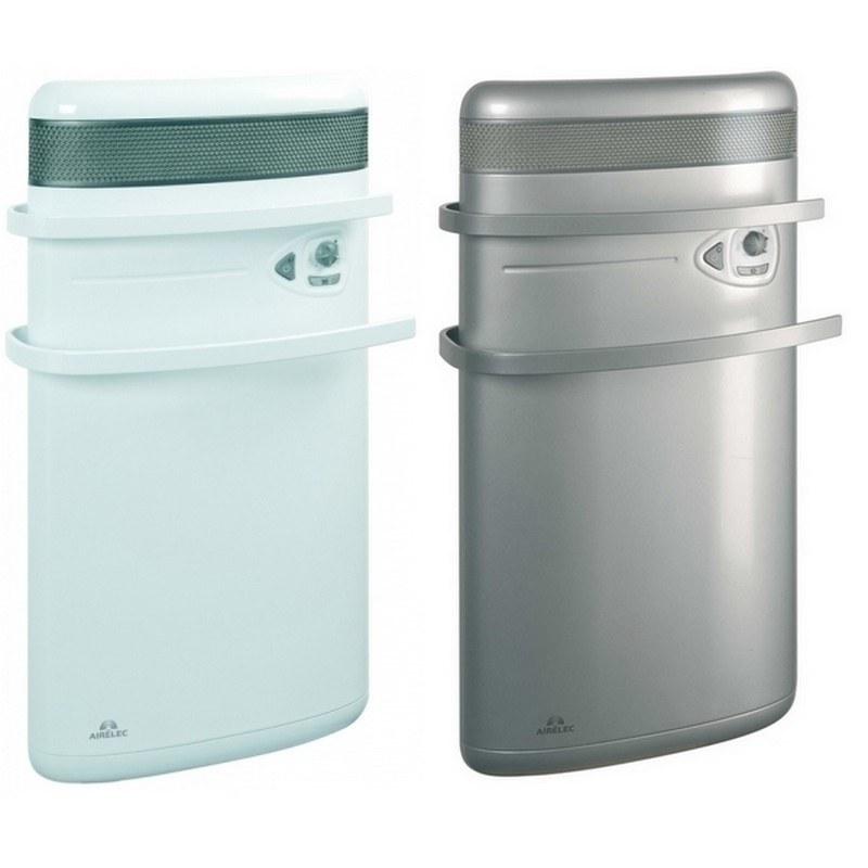 Badezimmer Elektroheizkörper Indigo mit Handtuchhalter